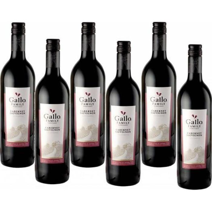Gallo Family Vineyards Cabernet Sauvignon Vin Rouge 6 x 0,75l