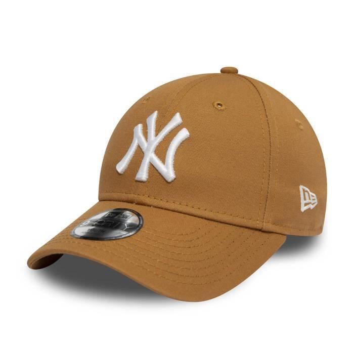 Casquette New Era New York Yankees 9forty camel enfant osfy Marron