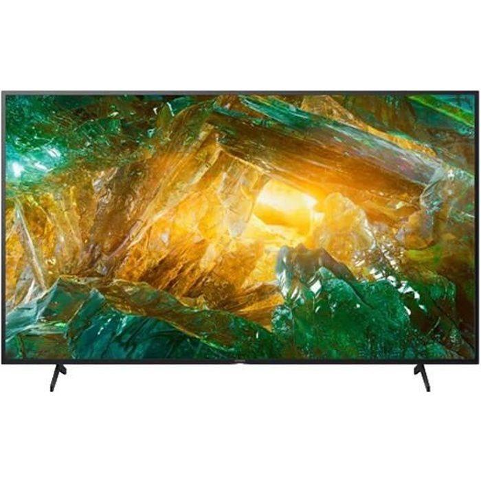 TV intelligente Sony Bravia KD55XH8096 55- 4K Ultra HD LED WiFi Noir