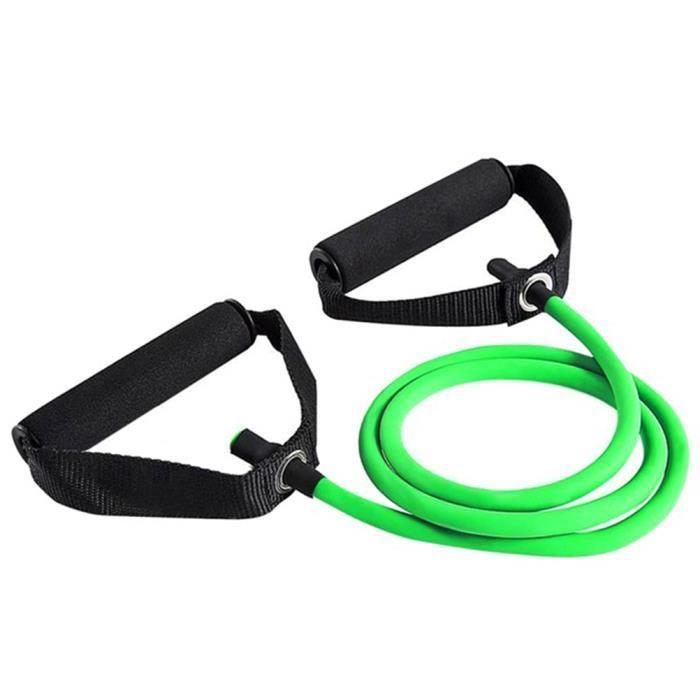 SURENHAP Élastique Bandes de résistance Sport Fitness Expander Pull Rope Tubes Équipement d'exercice physique -25-30LB