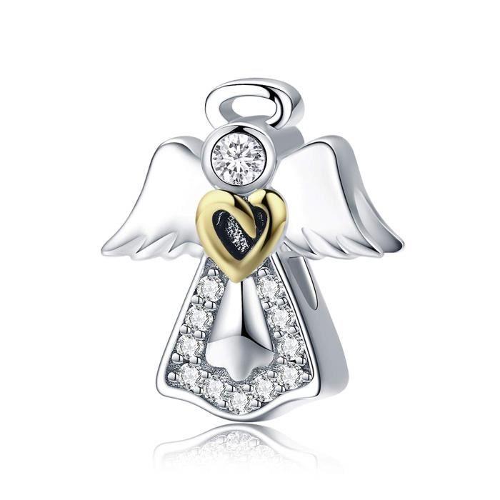 Bracelet XXZNL Aile d'ange forme de coeur charme p