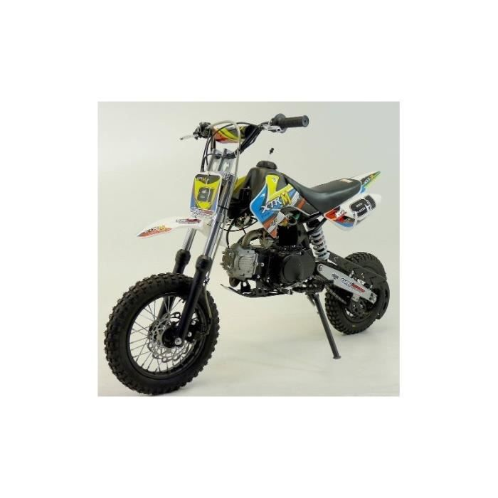dirt bike 110cc automatique achat vente moto dirt bike 110cc automatique soldes cdiscount. Black Bedroom Furniture Sets. Home Design Ideas