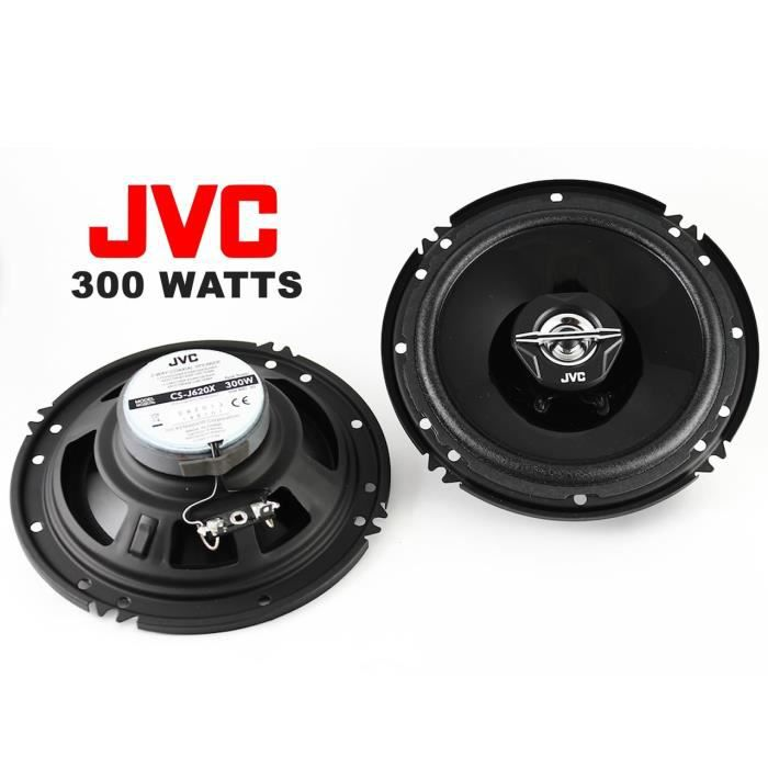 jvc cs j620x haut parleurs enceintes coaxiaux 2 voies 10 cm 300 watts achat vente haut. Black Bedroom Furniture Sets. Home Design Ideas