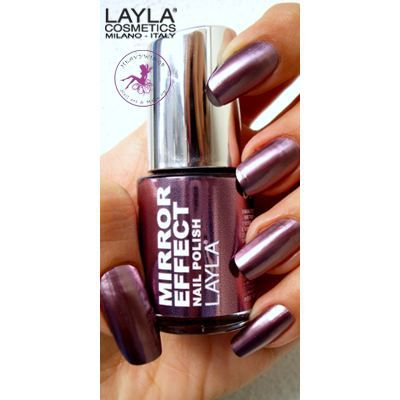 layla vernis ongles collection mirror effect achat vente vernis a ongles layla vernis. Black Bedroom Furniture Sets. Home Design Ideas