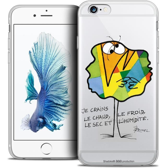 Coque iPhone 6/6s Extra Fine Les Shadoks Chaud ou