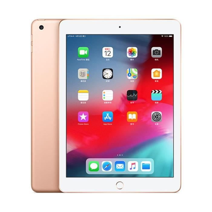 TABLETTE TACTILE Apple iPad wifi 9.7-inch 128GO Or
