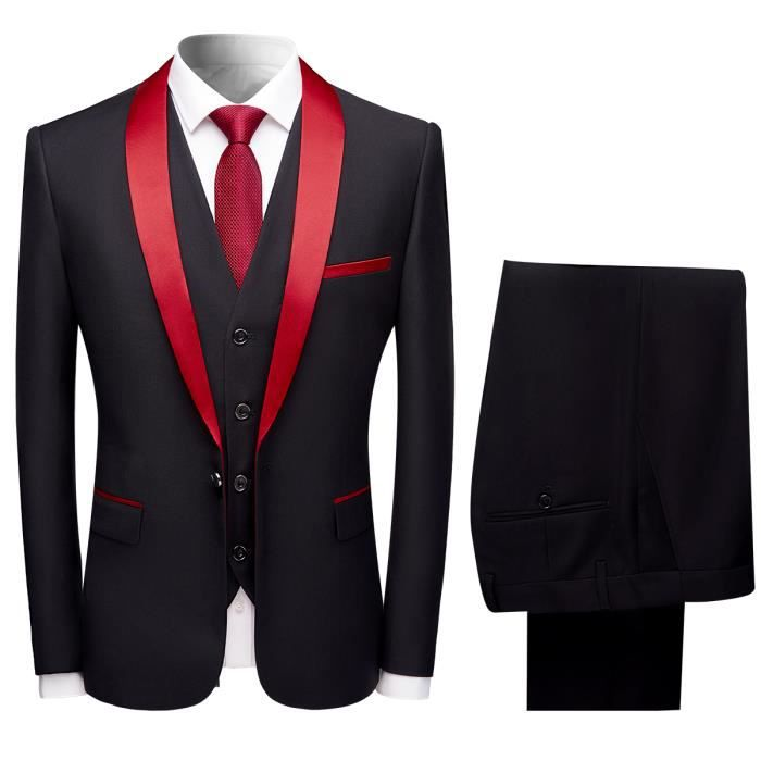 Costume homme mariage 3 pieces - Achat   Vente pas cher a1dda97f866