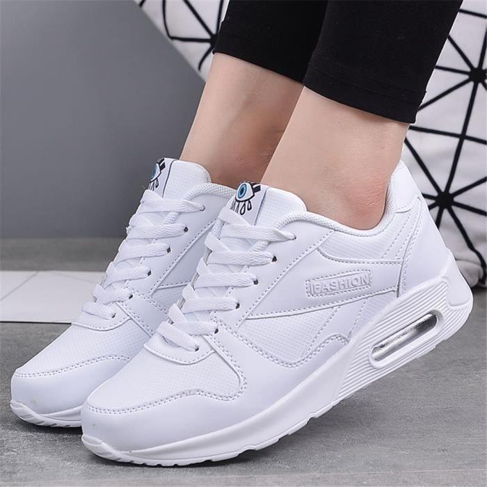 Chaussures de loisir à la mode Femme respirant maille appartements