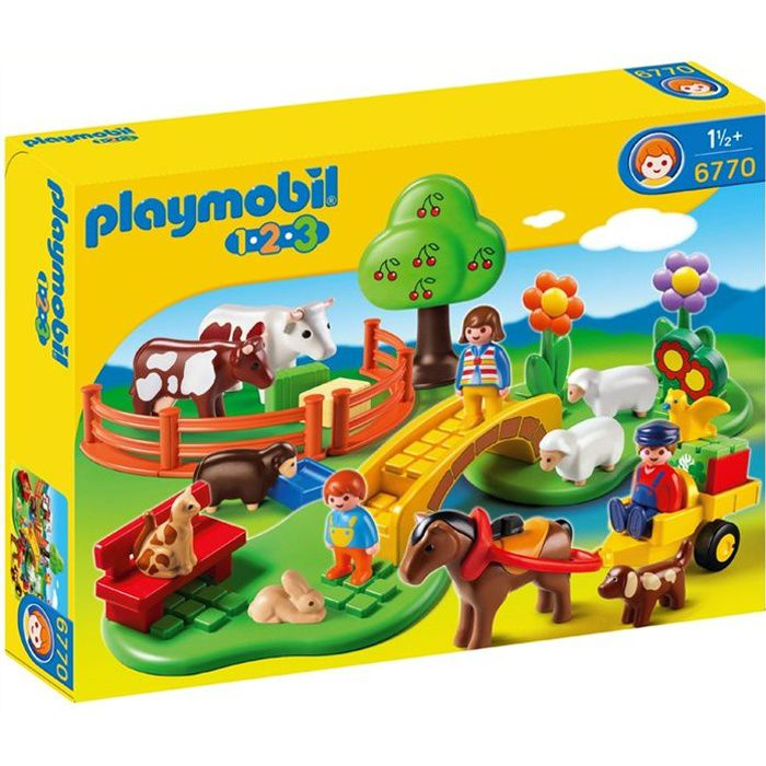 playmobil coffret famille la campagne achat vente. Black Bedroom Furniture Sets. Home Design Ideas
