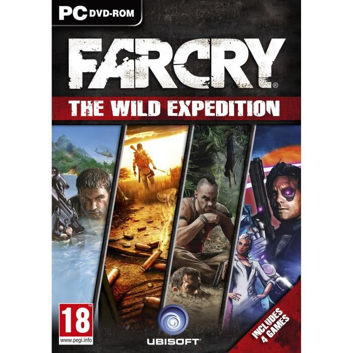 JEUX XBOX 360 Far Cry Wild Expedition PC