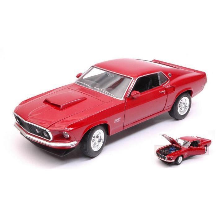 Burago Die Cast Auto Stradali FORD MUSTANG GT 1964 RED 1:43 Modellino