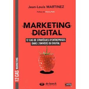 LIVRE GESTION Marketing digital