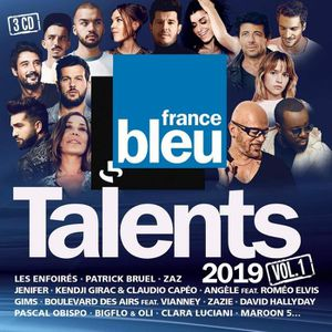 CD VARIÉTÉ FRANÇAISE Talents France Bleu 2019 Volume 1 Coffret - 3CD (4