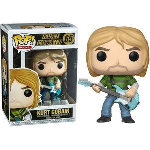 FIGURINE DE JEU Figurine Funko Pop! Rocks: Kurt Cobain avec guitar