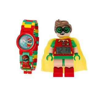 RÉVEIL ENFANT montre et réveil Lego Robin