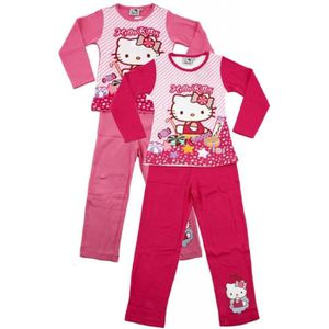 pyjama hello kitty fille achat vente pas cher. Black Bedroom Furniture Sets. Home Design Ideas