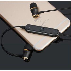 KIT BLUETOOTH TÉLÉPHONE Ecouteurs Bluetooth Anneau pour LG K10 4G Smartpho