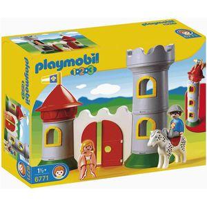 UNIVERS MINIATURE Playmobil Château Avec Couple Princier