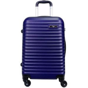 VALISE - BAGAGE Valise Taille Moyenne 4 roues 65cm Rigide Bleu Mar