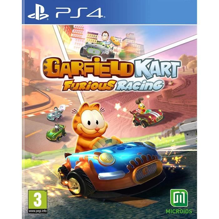 Garfield Kart Furious Racing Jeu PS4