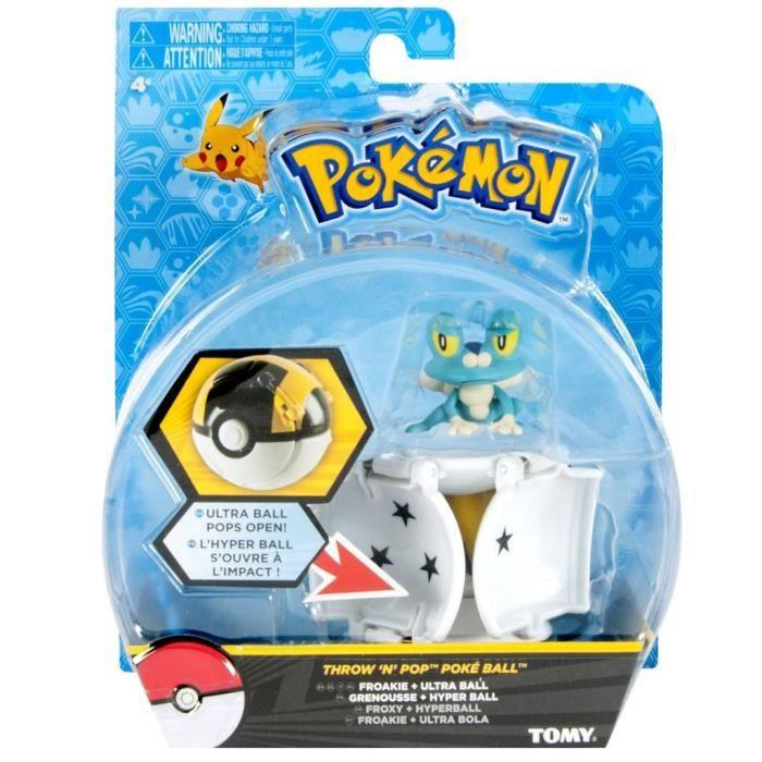 Tomy Pokémon - T18877 - Throw'n'pop pokéball Grenousse