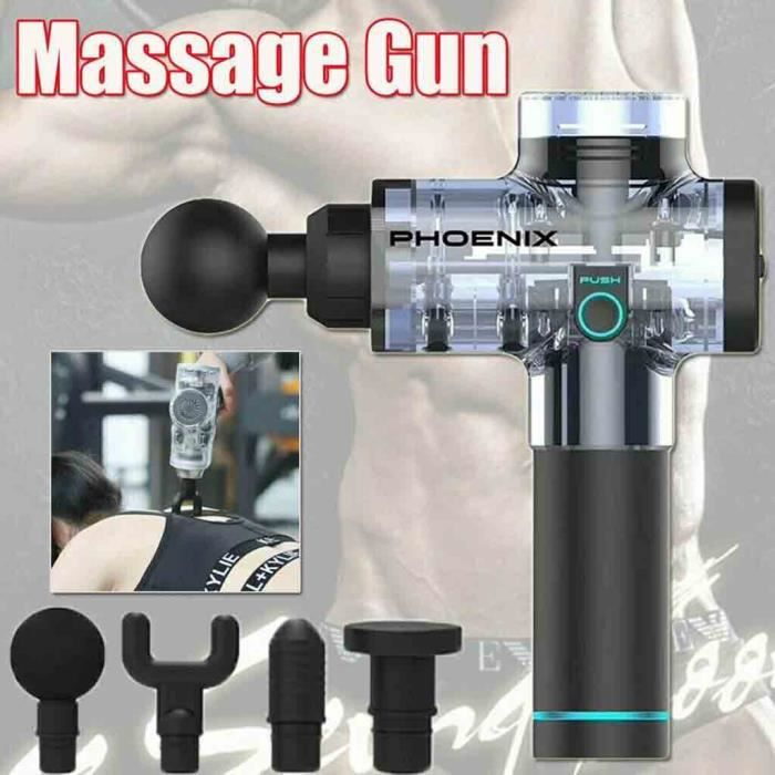 ACCESSOIRES DE NETTOYAGE DU VISAGE Phoenix A2 Outil De Massage Percussion Massager Muscle Vibrant Relaxing Machine Us Hqj90627574
