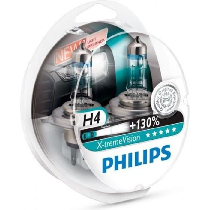 Ampoules H4 Philips X-treme Vision