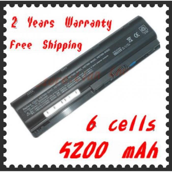 Portable Batterie Mu06 Pour Hp Compaq Cq32 Cq42 Cq43 Cq56 Cq62 Cq62-100 Cq62-200 Cq630 Cq72 Pour Envy 15 - 1100 17 T G32 G62 G42-100