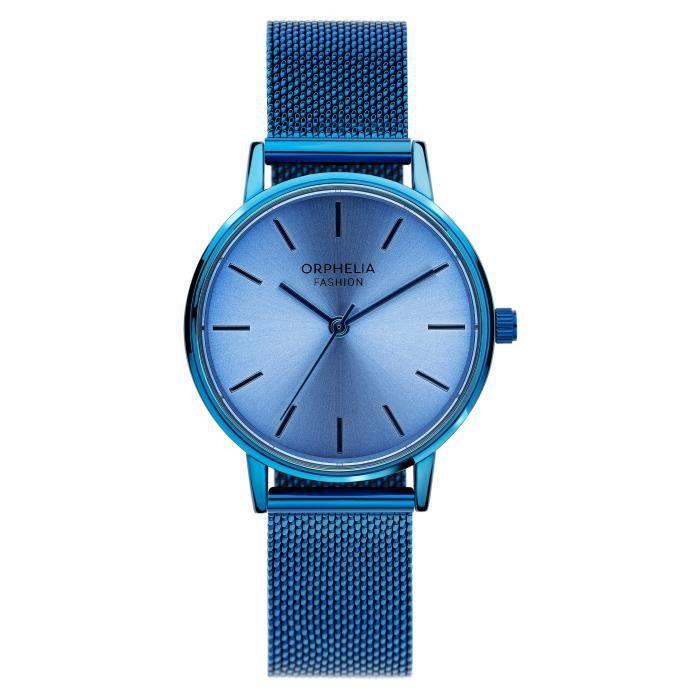 Orphelia Fashion - Montre Femme - Quartz Analogique - Bracelet Acier inoxydable Bleu - OF714807