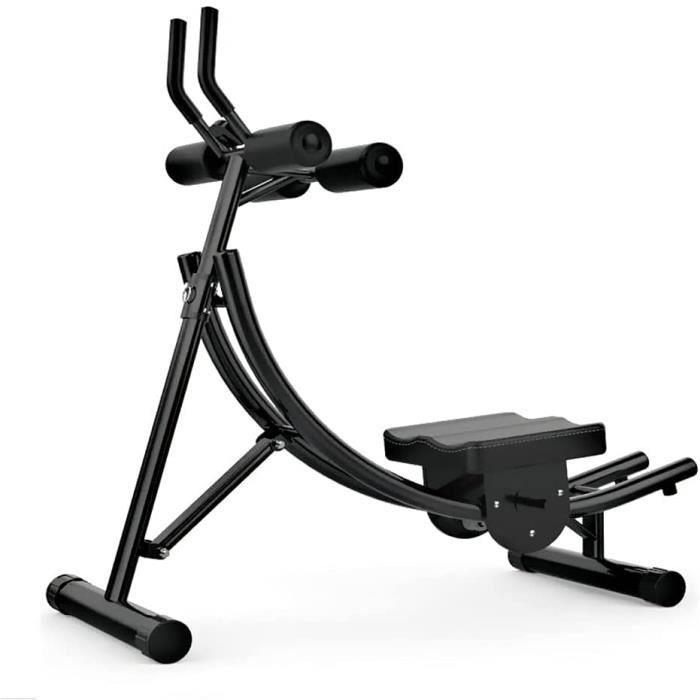 Best Goods Vlo dappartement pliable pour abdominaux. dos et dos avec reposegenoux Appareil de fitness professionnel pour abd[6811]