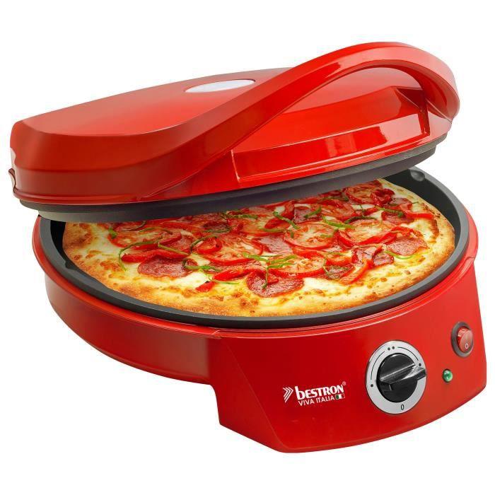 BESTRON APZ400 Four à pizza - Rouge