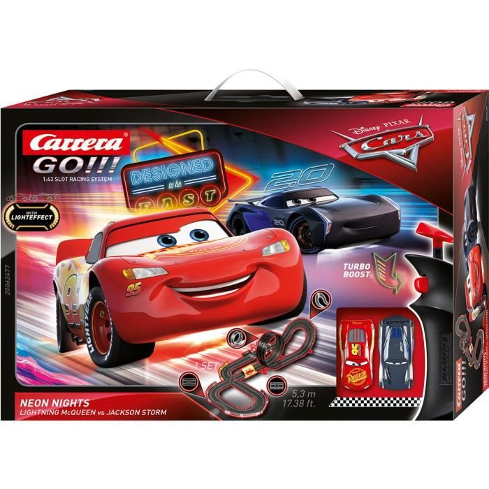 Carrera Go!!! Disney Cars - Neon Nights