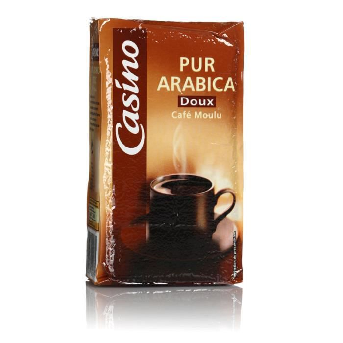 Café moulu arabica doux - 250g