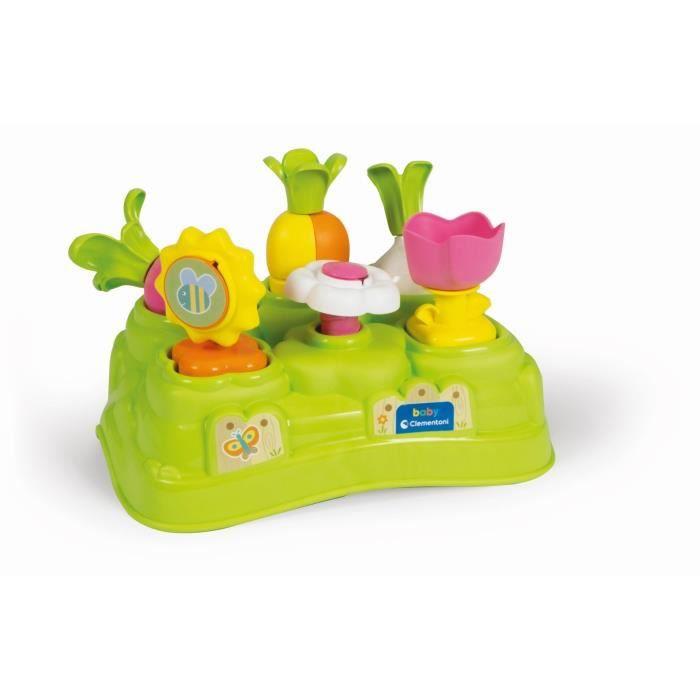 CLEMENTONI Baby - Mon premier jardin - Jeu d'éveil - Premières activités