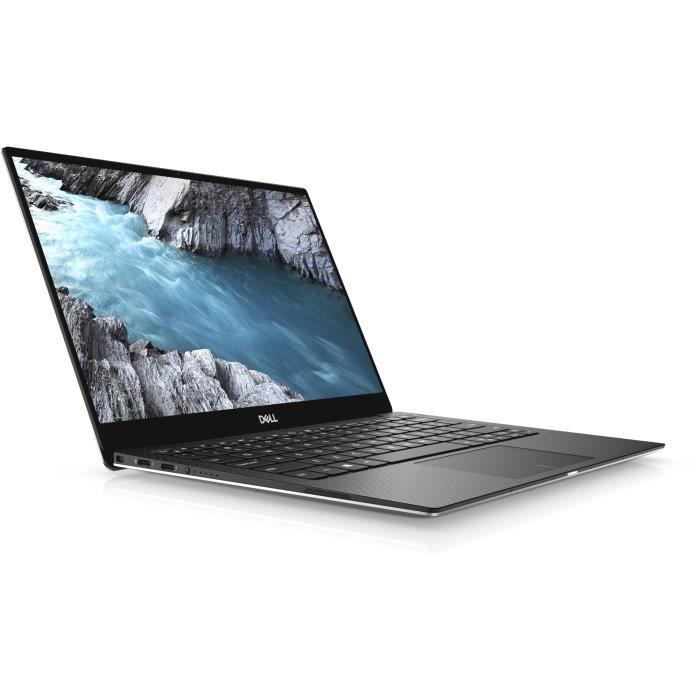 Ordinateur Portable - DELL XPS 13 9380 - 13,3- 4K Ultra HD - Core i5-8265U - RAM 8 Go - Stockage 256Go SSD - Windows 10