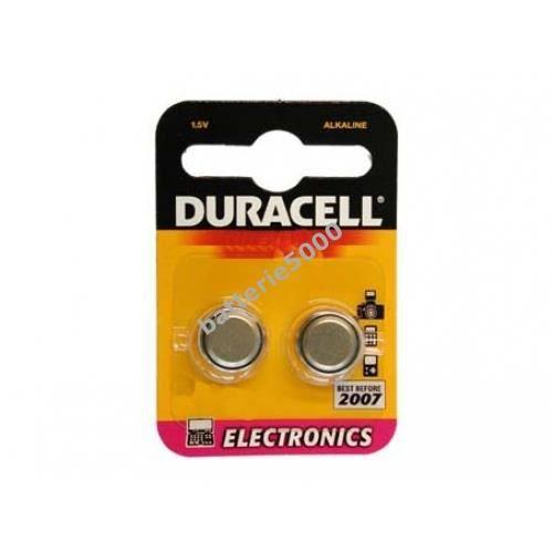 Pile-bouton Duracell type/réf. AG10 (2 unités s...