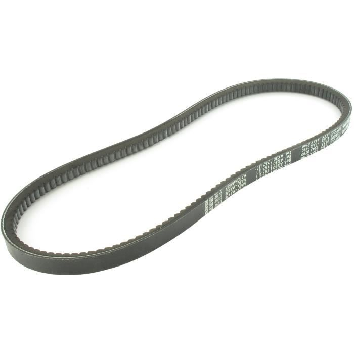 Courroie trapézoïdale crantée américaine série 5L (section 16x12,1mm) Longueur ext: 92-