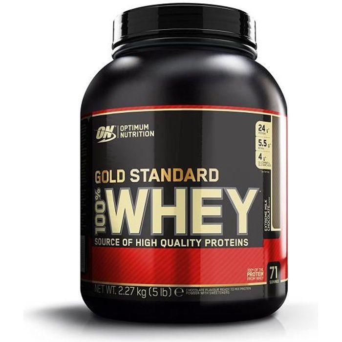 Optimum Nutrition 100% Whey - 2273g - Double Rich Chocolate