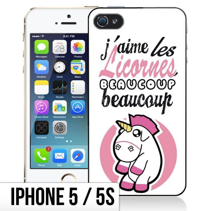 coque iphone 5s licorne achat vente coque iphone 5s. Black Bedroom Furniture Sets. Home Design Ideas