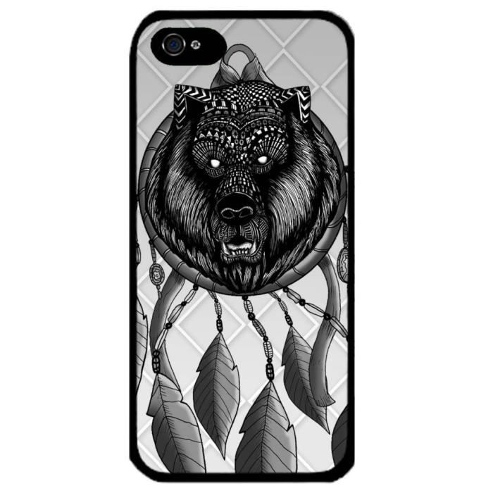 Coque de protection rigide pour iphone 6plus le dessin - Dessin de grizzly ...