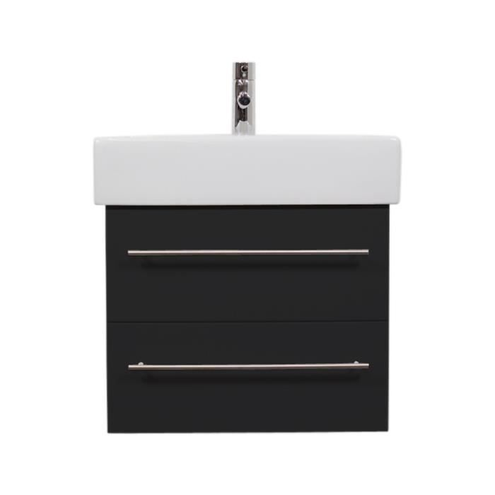 Vasque duravit vero 60 cm meuble emotion24 no achat for Meuble vasque 60 cm
