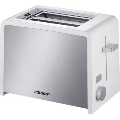 GRILLE-PAIN - TOASTER Cloer - 3211 - Toaster Inox - 2 Tranches