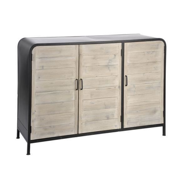 Buffet design industriel urban achat vente buffet for Buffet bahut industriel