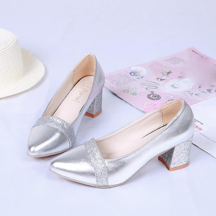 À Chaussures Mode Hauts Élégant Pointues Talons 5jqA3L4R