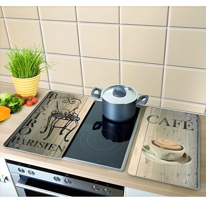 passe au lave-vaisselle antirouille Lot de 2 plaques de cuisson professionnelles en acier inoxydable facile /à nettoyer finition miroir 27,5 x 17,7 cm