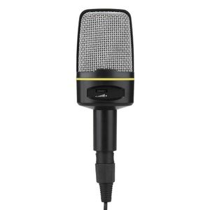 HAUT-PARLEUR - MICRO LANQI Microphone 3,5 mm plug and play omnidirectio