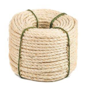 Corde Cordage en sisal 10mm 20m 4 torons torsad/é Cat/égorie A