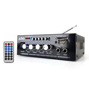 AMPLI PUISSANCE Amplificateur karaoke 50W - USB-BLUETOOTH-SD-FM +