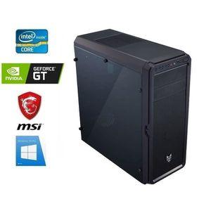 UNITÉ CENTRALE  PC Bureau intel I5-9400F - GeForce GT 710 - 16GO R