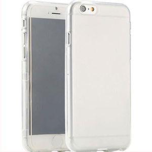 COQUE - BUMPER Coque iPhone 6 (4,7 pouces) avec rabat transparent
